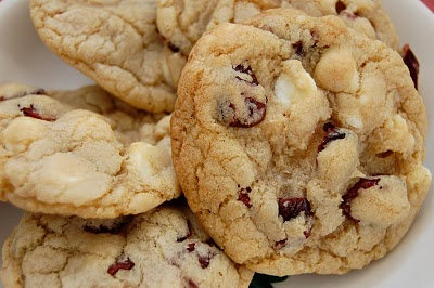 ... white chocolate chip cookies brandied cranberry white chocolate chip
